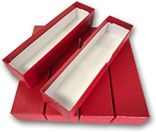 LOT OF 5 - SINGLE ROW 2x2 STORAGE BOXES For Coins in Plastic, Vinyl, Paper and Cardboard Flip Holders