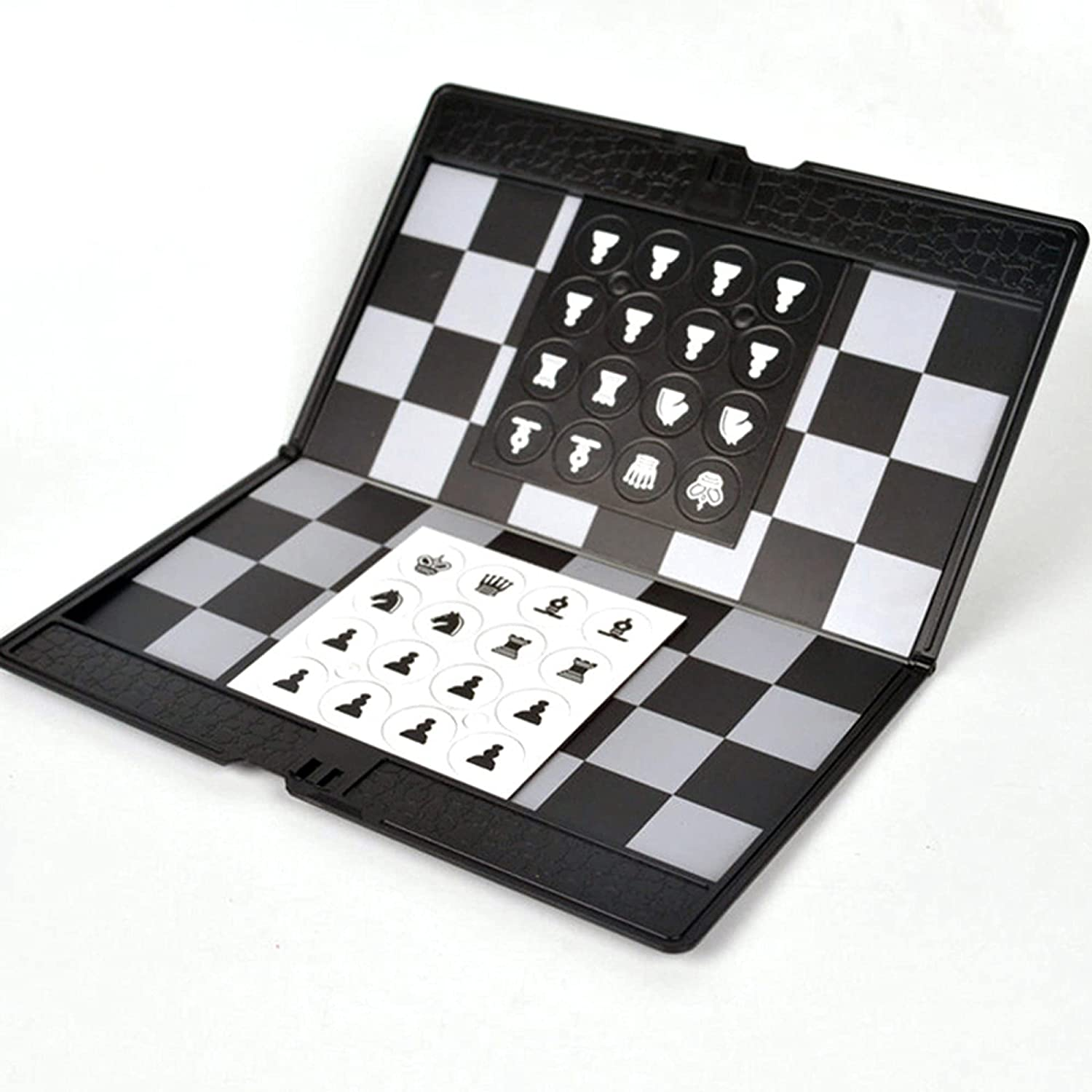 LINGOSHUN sale Chess Board Set Portable Magnetic Folding Chessbo Soft In a popularity