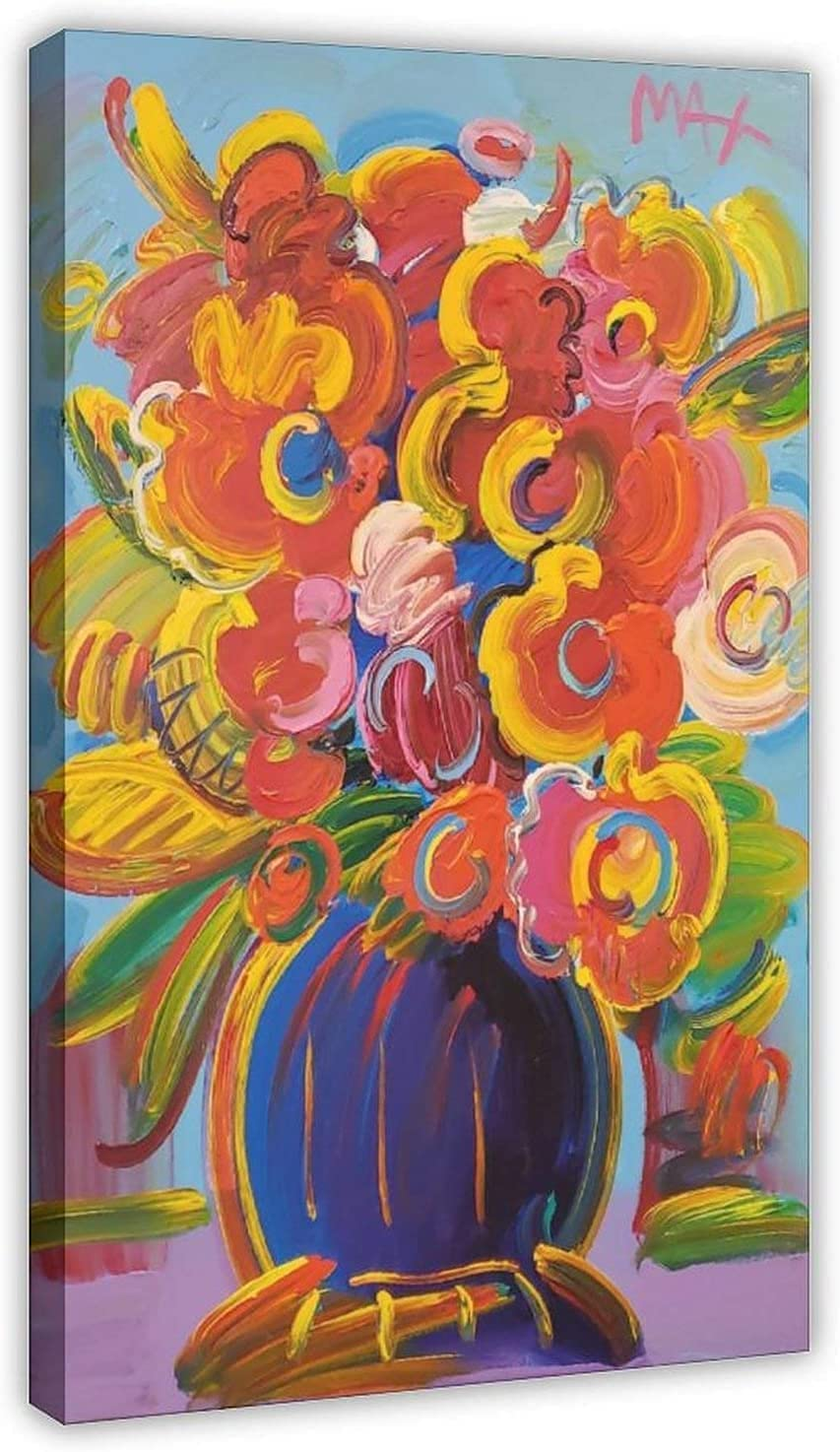 Peter Max Vase of Flowers Series Pictures Poster Mail order Oil o Ranking TOP11 Paintings