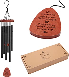 Memorial Wind Chimes Sympathy Gifts for Loss of Loved One Dad Mom Mother Father Daughter Husband Brother Sister Son Best F...