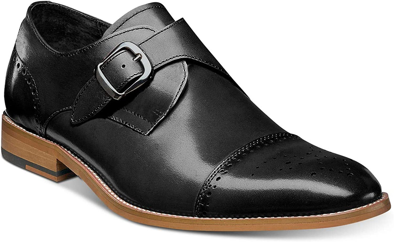 Stacy Adams Mens Duncan Leather Closed Toe Slip On shoes