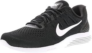 Mens Lunarglide 8 Running Shoe, Black/White-Anthracite, 11.5