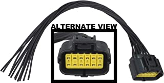 APDTY 756912 Wiring Harness 12-Way Wire Connector Pigtail