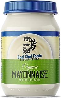 Cool Chef Foods Organic Mayonnaise – Bringing Real Back, Pantry Staple, Non-GMO, Gluten-Free, Keto-Friendly Kosher Mayo - ...