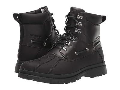 Sperry Watertown Duck Boot (Black/Grey) Men
