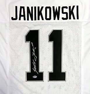 Oakland Raiders Sebastian Janikowski Autographed White Jersey - Beckett COA