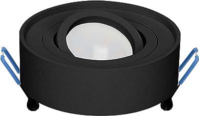 Orno SORMUS R Cadre de Projecteur Encastré pour LED GU10 IP22 50W Max (acheter l'ampoule séparément)
