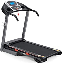 Treadmill Foldable Treadmill for Home Electric Treadmill Workout Running Machine 3-Level Manual Incline Treadmill with LCD...