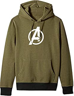 BAGHADBILLO Super Hero Avenger Graphic Printed Casual Regular fit Unisex Warm Pullover Cotton Hoodie, Sweatshirt for Men, ...