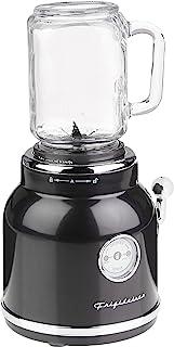 FRIGIDAIRE ESMM100-BLACK, Countertop Blender, Dishwasher Safe, BPA-Free, High Power Personal Blender, Cream White