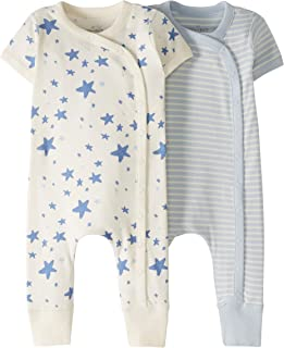 Newborn Baby Girl Boy Clothes Set Short Sleeve Romper Jumpsuit wang NtNtH HdOrP