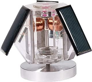 Sunnytech Mini Solar Vertical Mendocino Motor Magnetic Levitating Educational Model Science Physics Toy QZ08A