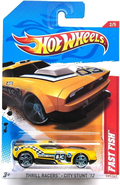 100% a estrenar con calidad original. Hot Hot Hot Wheels Thrill Racers City Stunt '12 2 5 Fast Fish Collector  197 247 on Scan and Track Coched  tienda en linea