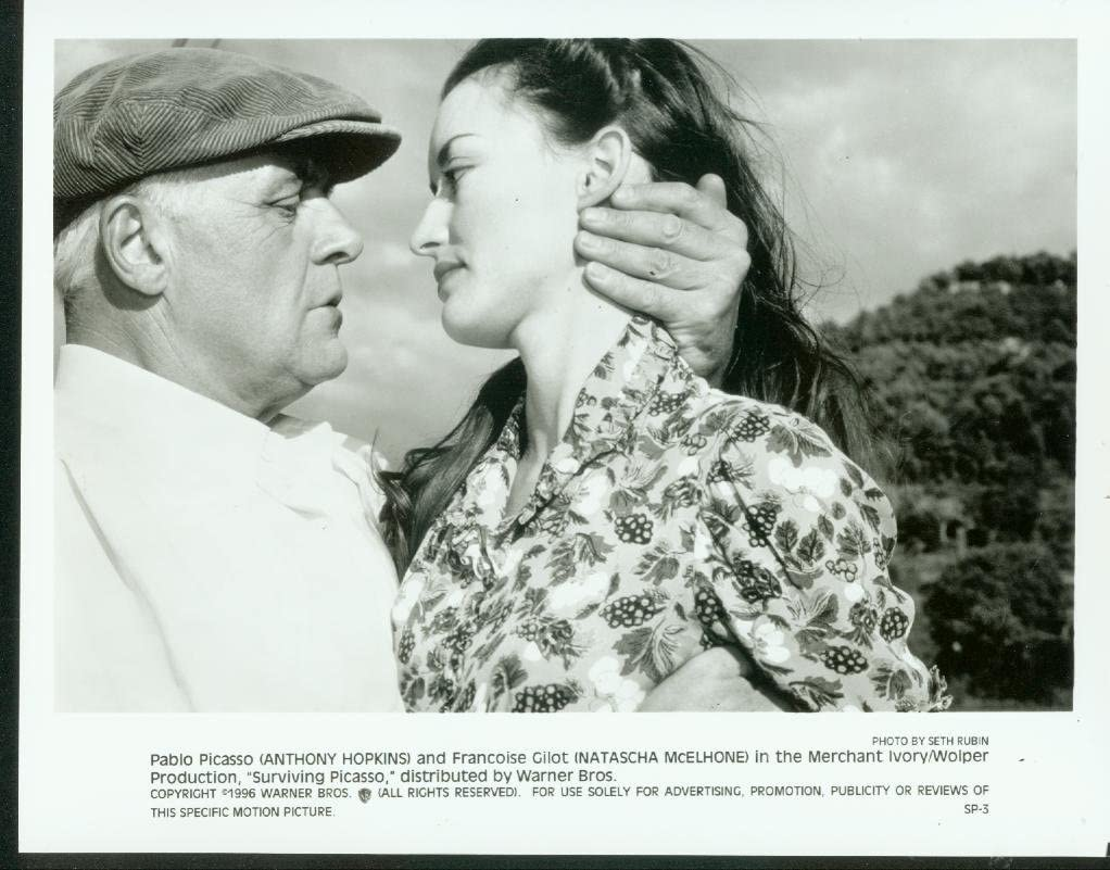 MOVIE PHOTO: SURVIVING PICASSO Max 55% OFF PROMO-ANTHONY 8x10 BW Ranking TOP5 HOPKINS-19