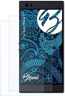 Bruni Skärmskydd är kompatibel med Razer Phone 2 Film, kristallklart Skyddsfilm (2X)