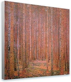 Gustav Klimt Pine Forest