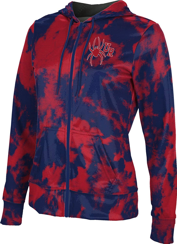 ProSphere University of Richmond Girls' Zipper Hoodie, School Spirit Sweatshirt (Grunge)