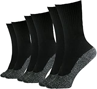 35 Below Socks - 3 pairs - Keep Your Feet Warm and Dry, 3 pairs in Black; Size Small/Medium