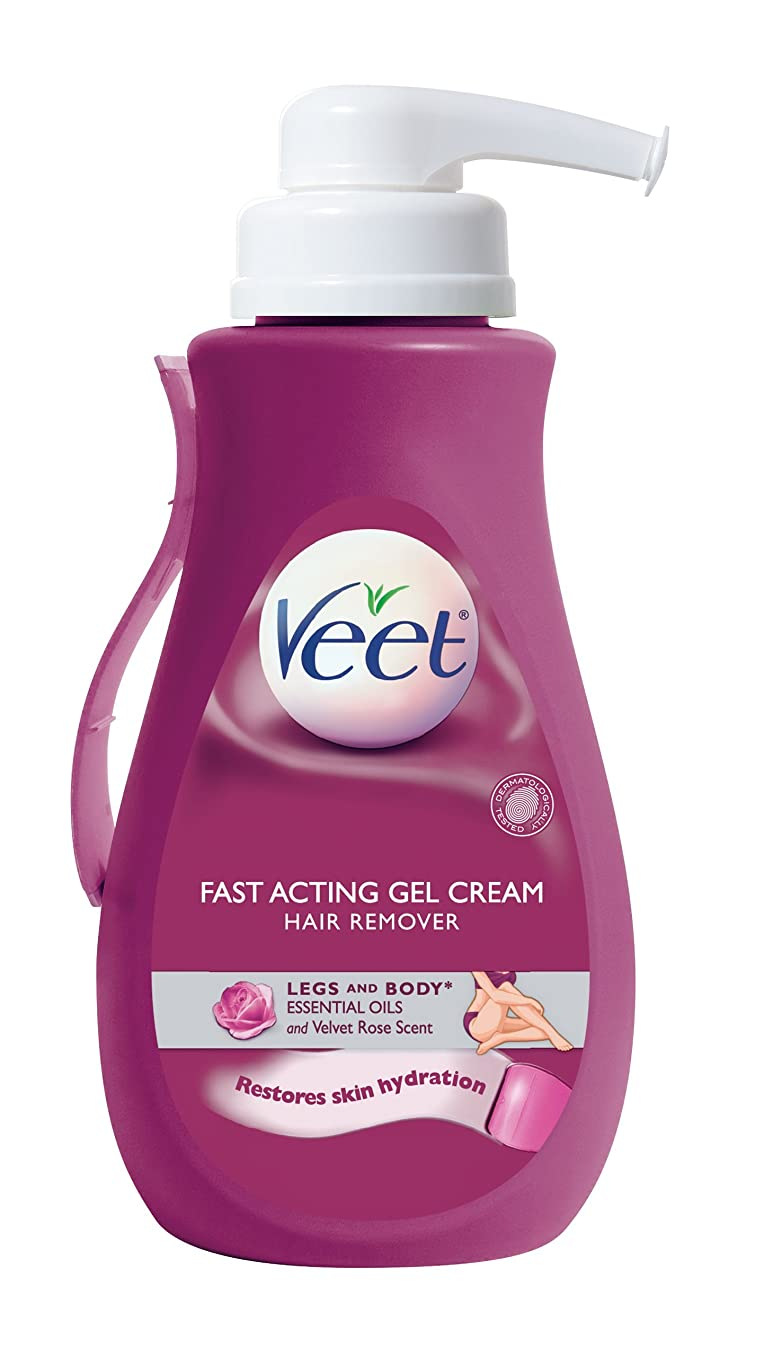 年次天の不条理Veet Suprem Essence Gel Pump Essence Oil 400 ml [並行輸入品]