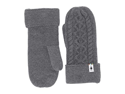 Smartwool Bunny Slope Mitten (Medium Gray Heather) Extreme Cold Weather Gloves