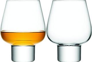 LSA International Madrid Brandy Glass (2 Pack), 15.6 fl. oz., Clear