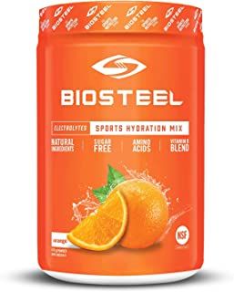 Sponsored Ad - BioSteel High Performance Sports Hydration - Sugar Free Drink Mix, Orange, 45 Servings