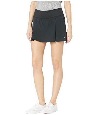 Brooks Chaser Skort (Black) Women