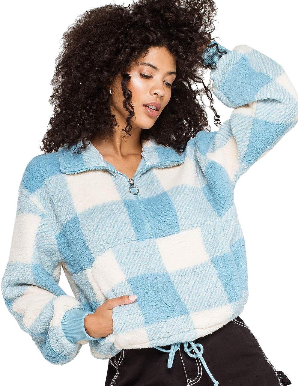 Billabong Women's Time Off Half Zip Cozy Fleece