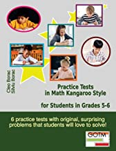 Practice Tests in Math Kangaroo Style for Students in Grades 5-6 (Math Challenges for Gifted Students) (Volume 3)