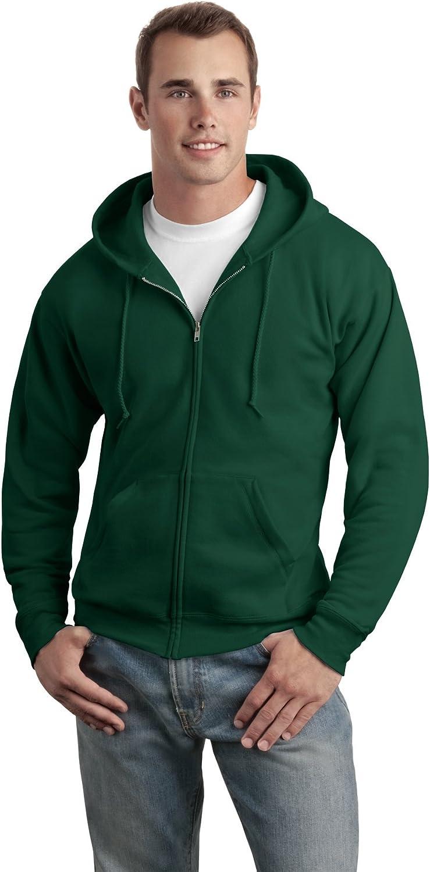 Hanes 7.8 oz. ComfortBlend EcoSmart 50/50 Full-Zip Hood