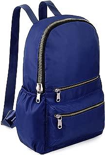 Fashion Backpack Oxford Waterproof Cloth Nylon Rucksack School College Bookbag Shoulder Purse Blue
