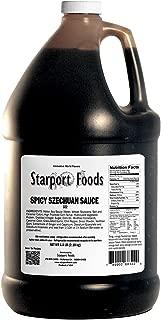 Starport Foods Spicy Szechuan Sauce, 1/2 gallon, (NET WT 4.8 lb, 76 oz)