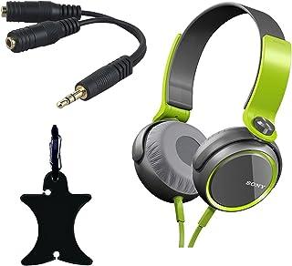 Sony MDR-XB400 Verde, Gris Supraaural Diadema Auricular - Auriculares (Supraaural, Diadema, Alámbrico, 5-22000 Hz, 1.2 m, Verde, Gris)