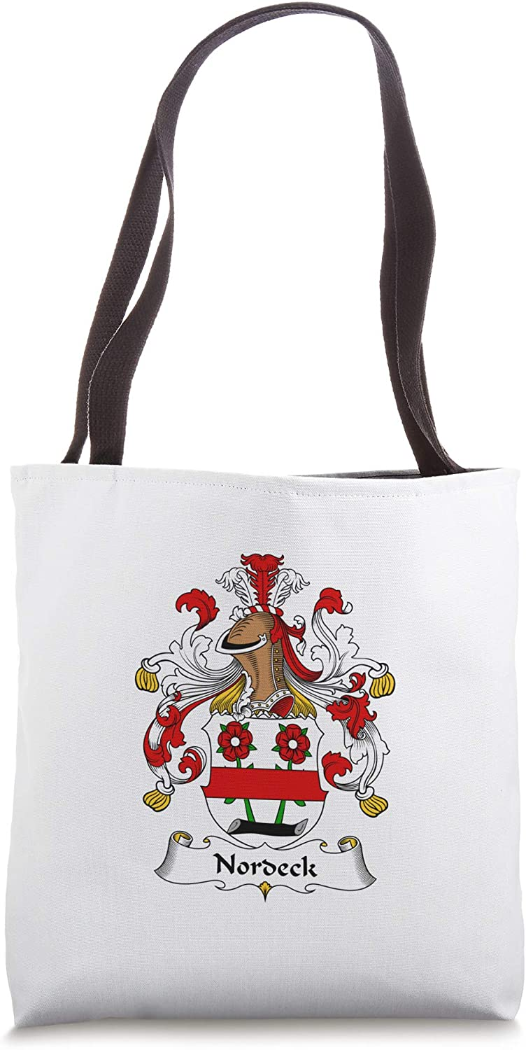 Nordeck Coat of Arms - Family Crest Tote Bag