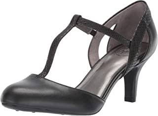 dee3d0bc53b Amazon.com: LifeStride Women's Kalea Dress Pump, Black, 6.5 W US