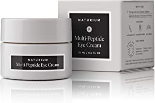 Naturium Multi-Peptide Eye Cream with Amino Acids & Vegan Squalane - 0.5oz