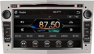 AWESAFE Radio Coche 7 Pulgadas con Pantalla Táctil 2 DIN para Opel, Autoradio con Bluetooth/GPS/FM/RDS/CD DVD/USB/SD, Apoy...