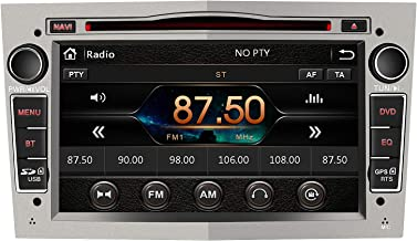 AWESAFE Radio Coche 7 Pulgadas con Pantalla Táctil 2 DIN para Opel, Autoradio con Bluetooth/GPS/FM/RDS/CD DVD/USB/SD, Apoyo Mandos Volante, Mirrorlink y Aparcacimiento (Gris)
