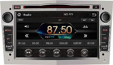 Radio Coche 7 Pulgadas con Pantalla Táctil 2 DIN para Opel, Opel Autoradio con Bluetooth/GPS/FM/RDS/CD DVD/USB/SD, Apoyo Mandos Volante, Mirrorlink y Aparcacimiento