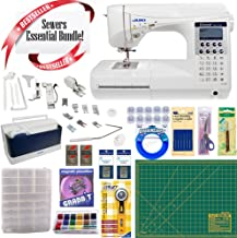 Juki HZL-F400 Exceed Series - Full Sized Computer Sewing Quilting Machine w/ Sewing essential Bundle