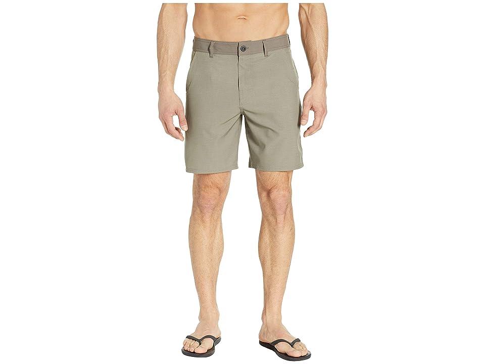 Prana Kingfischer Shorts (Dark Khaki) Men