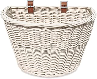 Colorbasket Adult Front Handlebar Wicker Bike Basket