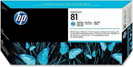 HP 81 (C4954A) Light Cyan Original DesignJet Printhead and Cleaner