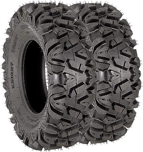 discount VANACC 2021 25x8x12 ATV Tires 6PR Set of 2 25x8-12 25-8-12 discount ATV UTV Tire sale
