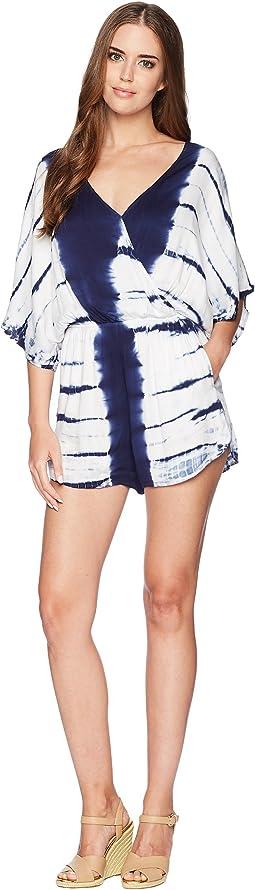 Pure Deluxe Eliza Kimono Sleeve Romper