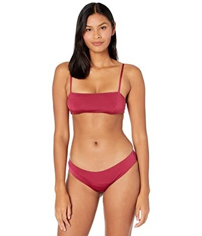 Volcom Simply Seamless Croplette (Pomegranate) Women