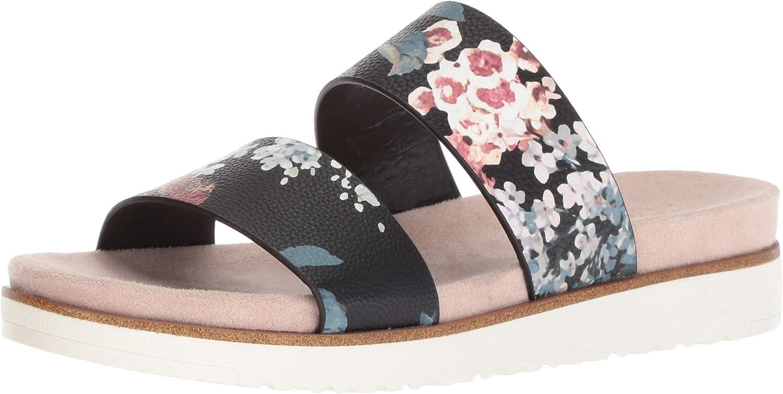 Kensie Womens Dominic Slide Sandal