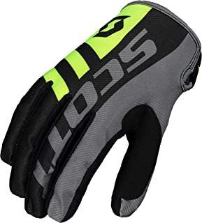 Scott 350 Dirt MX 2020 - Guantes para motocross/DH, color negro y gris