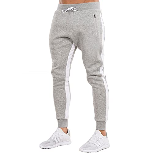 promotion official store matching in colour Grey Joggers Men's: Amazon.com