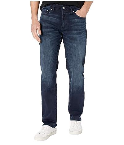 Calvin Klein Straight Fit (Boston Blue/Black) Men